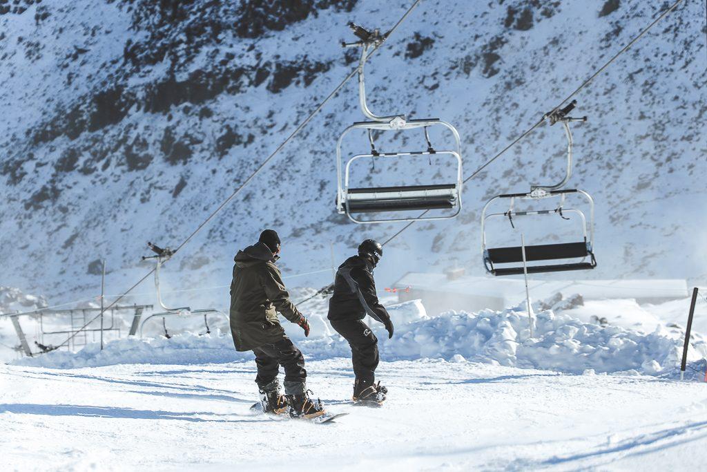 Snowboarden in Nieuw-Zeeland