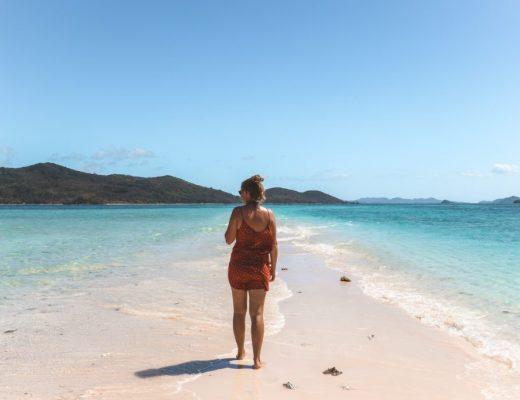 Reizen zonder verwachtingen: écht blauw water in de Filipijnen.