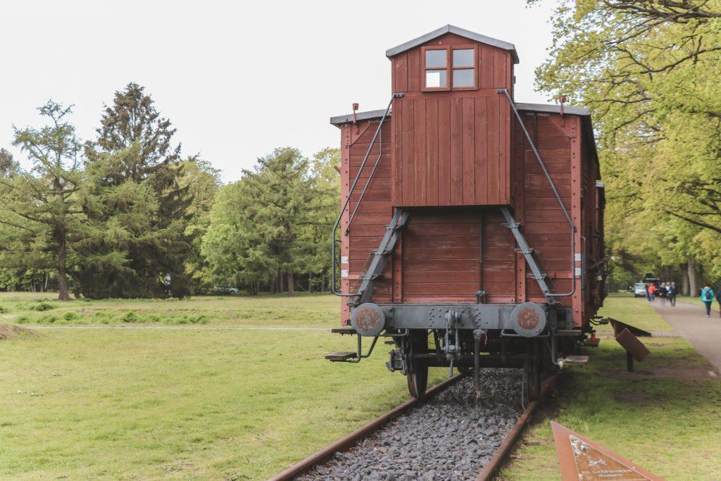 Trein die werd gebruikt tijdens WOII in Westerbork.