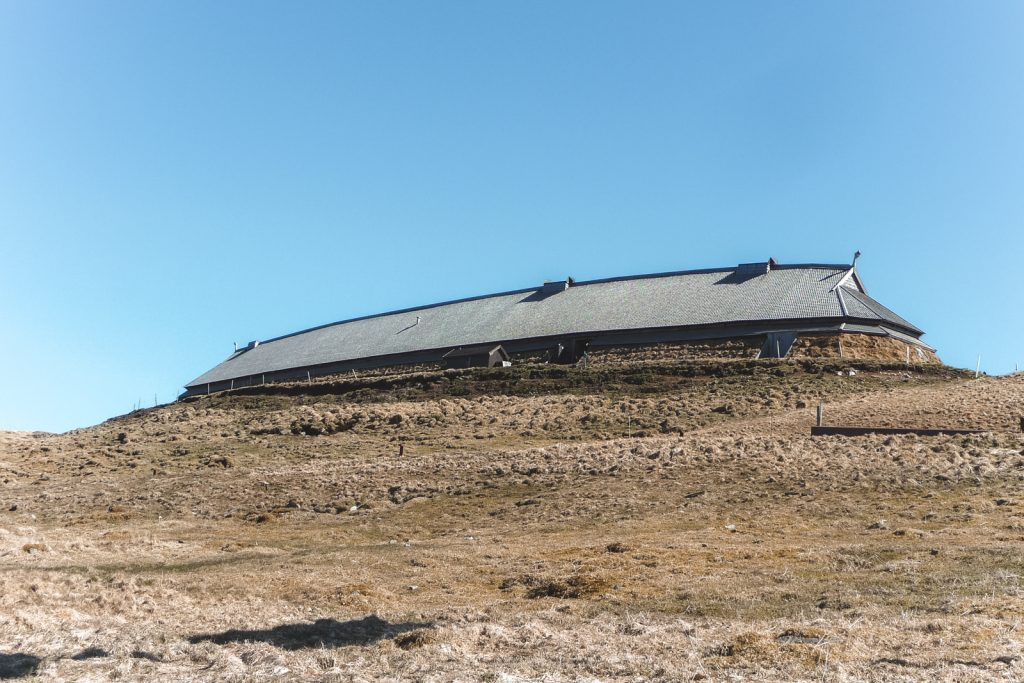 Langwerpig vikinghuis bij Borg