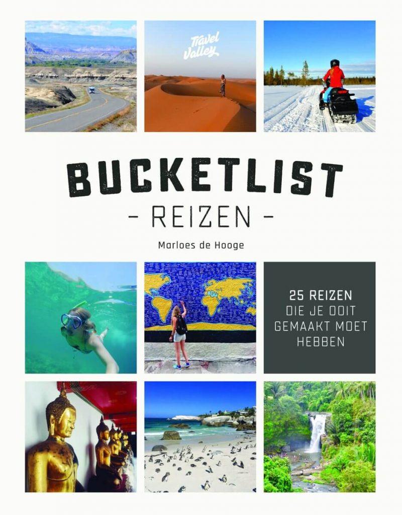 Boekcover Bucketlist reizen