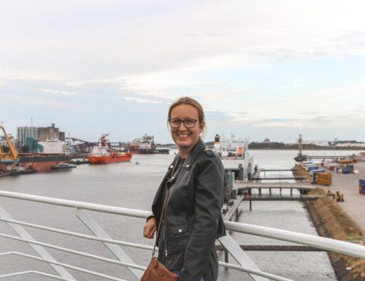 The Wandering Mind op de boot naar Engeland