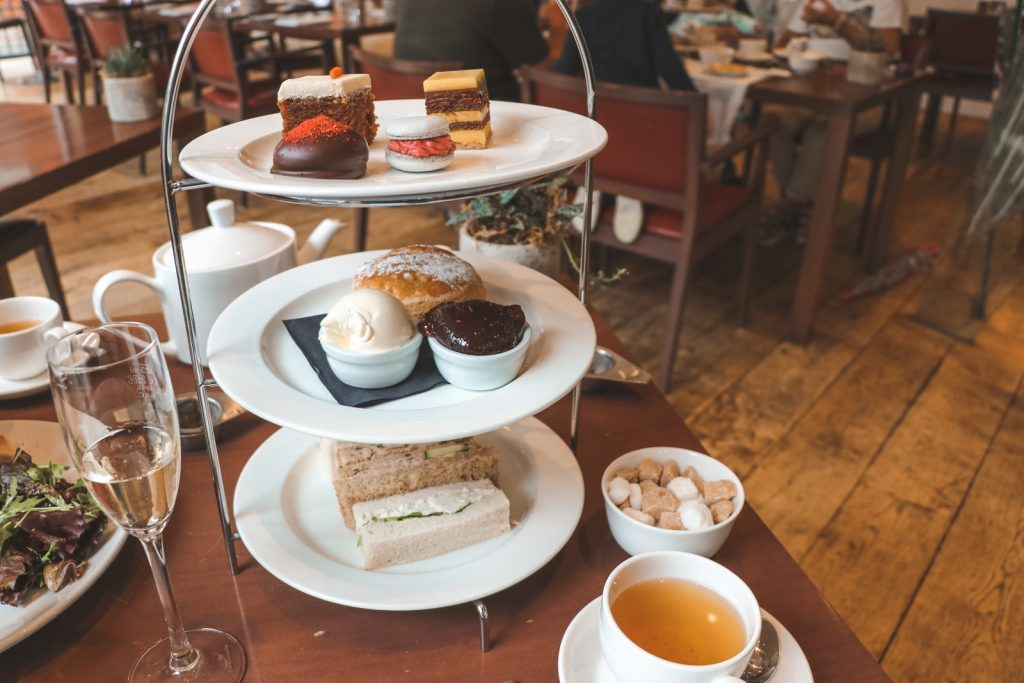 Afternoon tea Hope Street Hotel