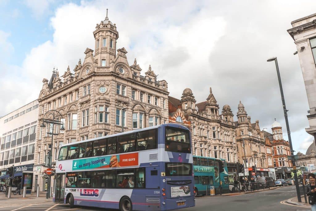 Doen in Leeds: Victoriaanse gebouwen bekijk in Leeds