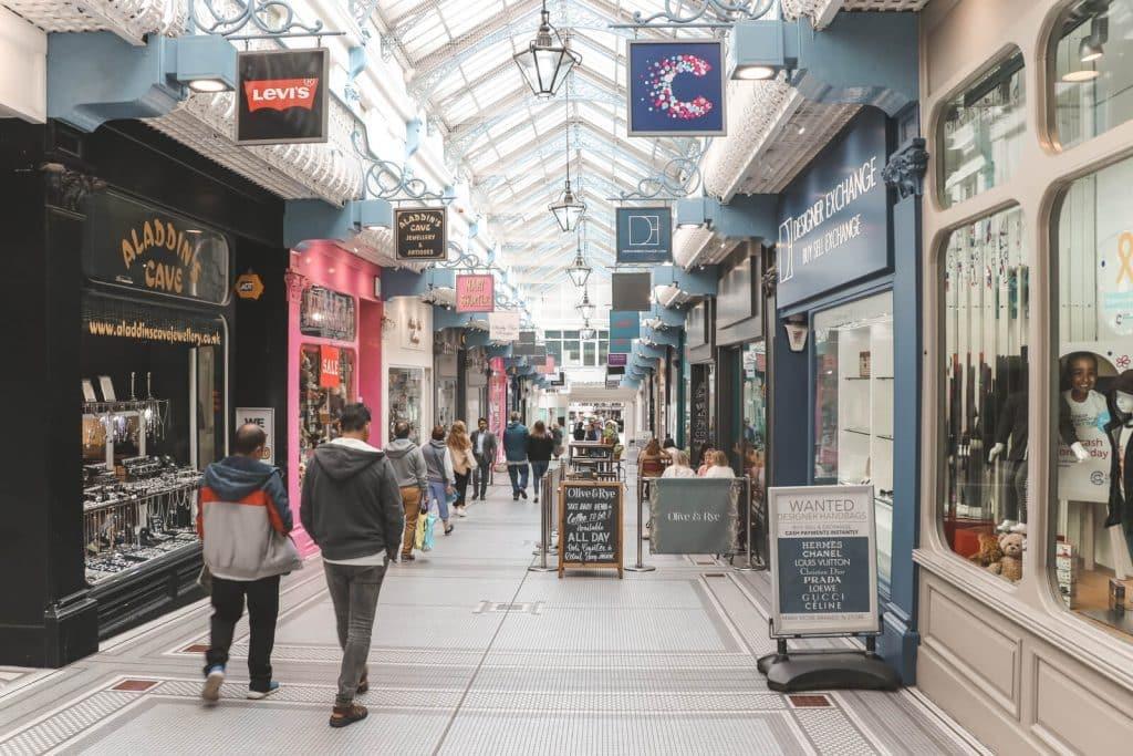 Queens Arcade in Leeds