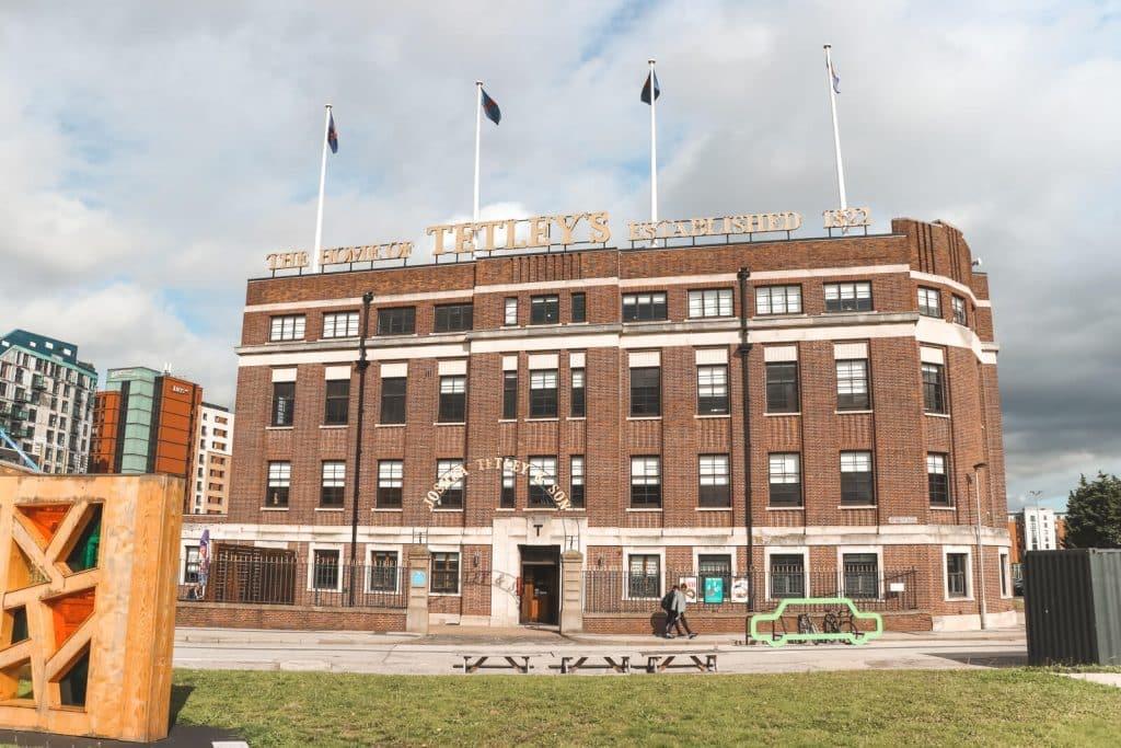 Rode fabriek The Tetley in Leeds