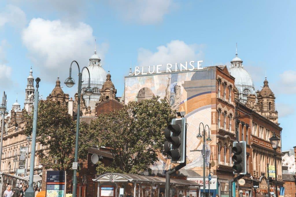 Victoriaanse gebouwen in Victoria Quarter Leeds