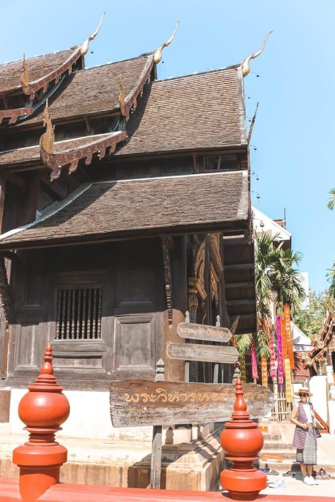 Wat Pan Tao: houten tempel in Chiang Mai