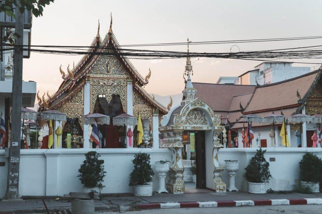 Wat Sai Moon Muang, een van de onbekende tempels in Chiang Mai