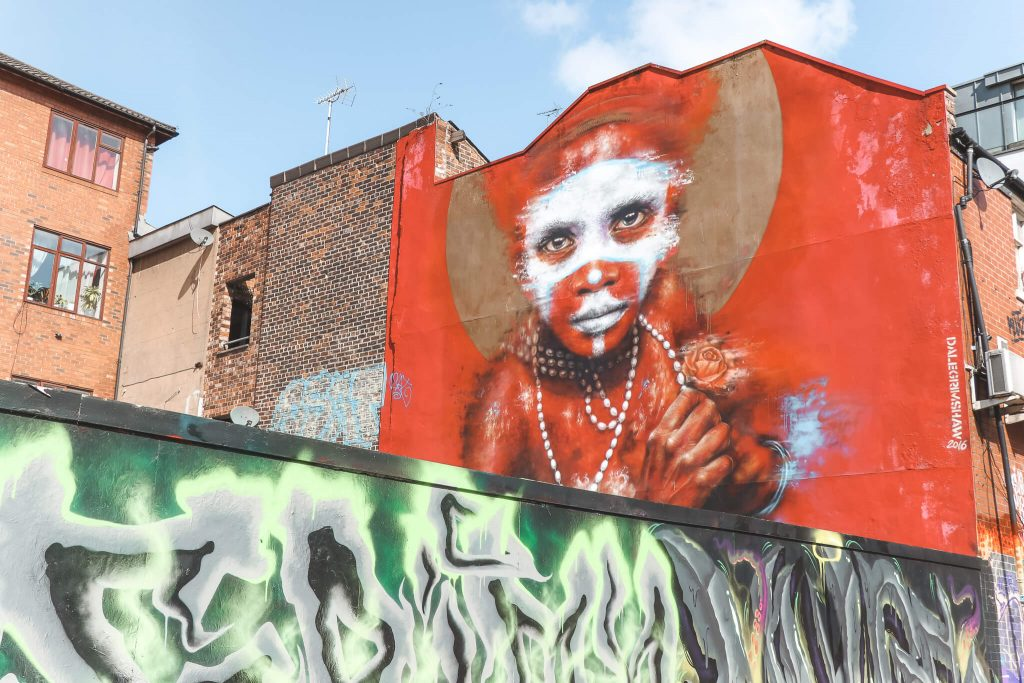 Street art spotten tijdens citytrip naar Manchester