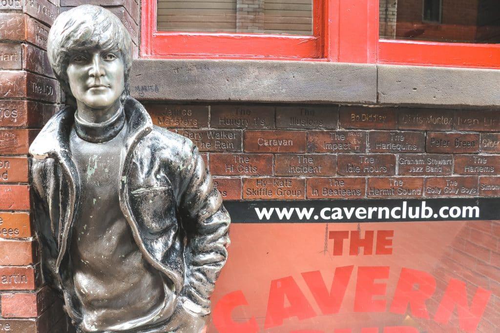 Entree van The Cavern Club
