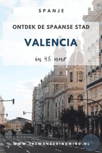 Historische huizen in Valencia