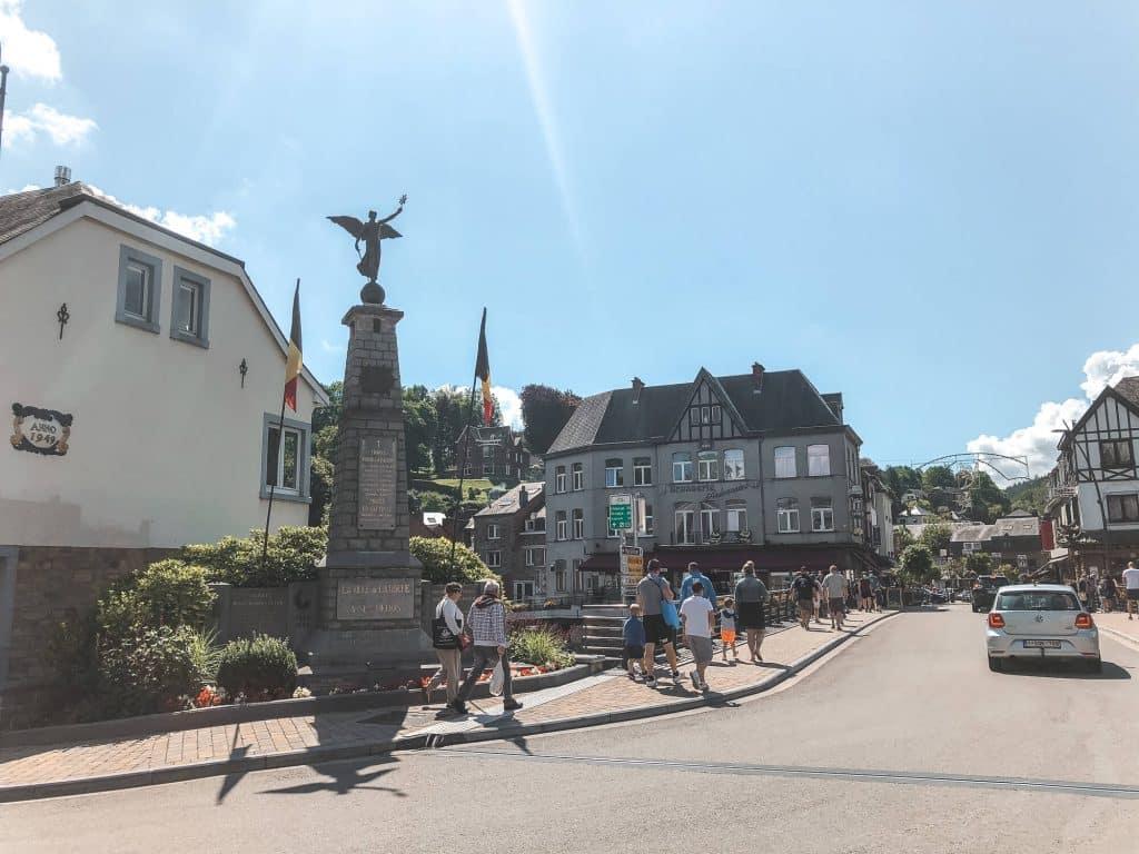 Pittoresk centrum van La Roche-en-Ardenne